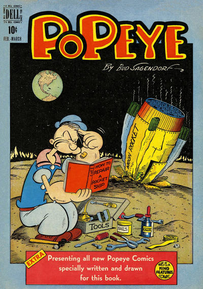 Cover for Popeye (Dell, 1948 series) #5
