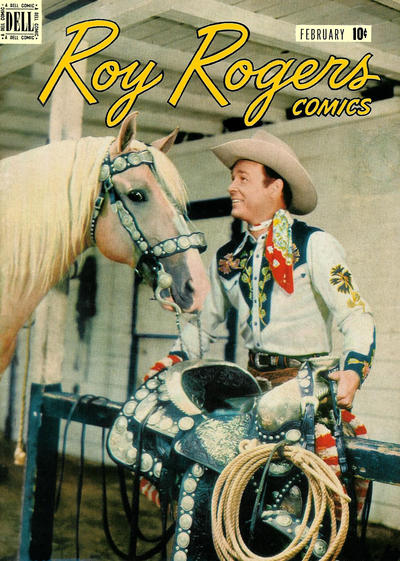 Cover for Roy Rogers Comics (Dell, 1948 series) #2