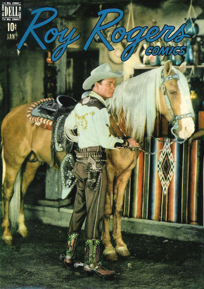 Cover for Roy Rogers Comics (Dell, 1948 series) #13