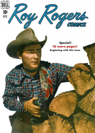 Cover for Roy Rogers Comics (Dell, 1948 series) #20