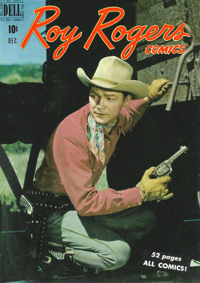 Cover for Roy Rogers Comics (Dell, 1948 series) #24