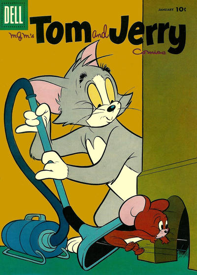 Cover for Tom & Jerry Comics (Dell, 1949 series) #150