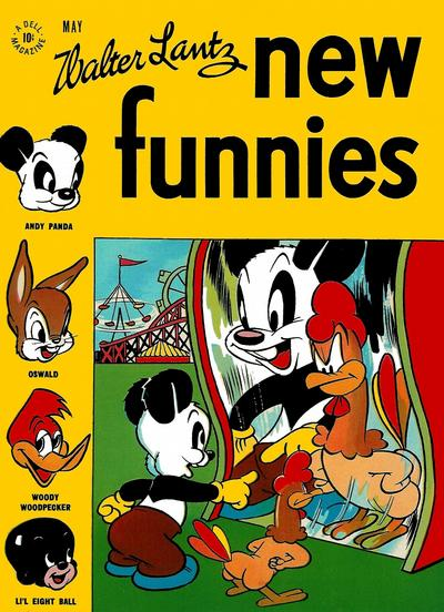 Cover for Walter Lantz New Funnies (Dell, 1946 series) #111