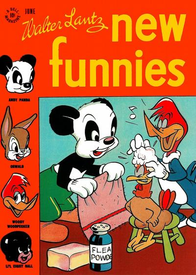 Cover for Walter Lantz New Funnies (1946 series) #112