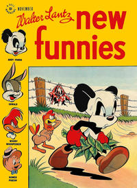 Cover Thumbnail for Walter Lantz New Funnies (Dell, 1946 series) #129