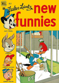 Cover Thumbnail for Walter Lantz New Funnies (Dell, 1946 series) #137