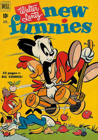 Cover Thumbnail for Walter Lantz New Funnies (Dell, 1946 series) #170