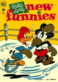 Cover Thumbnail for Walter Lantz New Funnies (Dell, 1946 series) #172