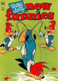 Cover Thumbnail for Walter Lantz New Funnies (Dell, 1946 series) #182