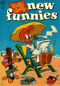 Cover Thumbnail for Walter Lantz New Funnies (Dell, 1946 series) #186