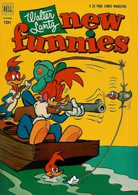 Cover Thumbnail for Walter Lantz New Funnies (Dell, 1946 series) #188