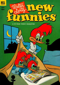 Cover Thumbnail for Walter Lantz New Funnies (Dell, 1946 series) #194