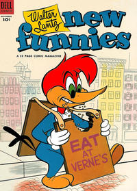 Cover Thumbnail for Walter Lantz New Funnies (Dell, 1946 series) #201