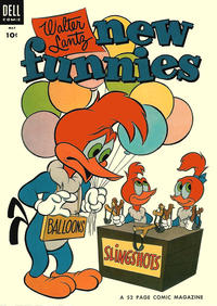Cover Thumbnail for Walter Lantz New Funnies (Dell, 1946 series) #207