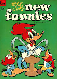 Cover Thumbnail for Walter Lantz New Funnies (Dell, 1946 series) #208