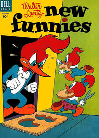 Cover Thumbnail for Walter Lantz New Funnies (Dell, 1946 series) #213