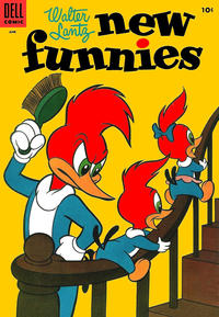 Cover Thumbnail for Walter Lantz New Funnies (Dell, 1946 series) #220