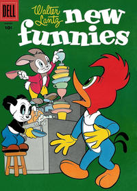 Cover Thumbnail for Walter Lantz New Funnies (Dell, 1946 series) #227