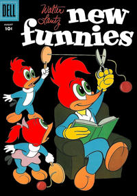 Cover Thumbnail for Walter Lantz New Funnies (Dell, 1946 series) #234