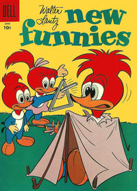 Cover Thumbnail for Walter Lantz New Funnies (Dell, 1946 series) #256