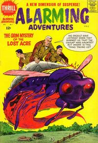 Cover Thumbnail for Alarming Adventures (Harvey, 1962 series) #1