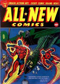 Cover Thumbnail for All-New Comics (Harvey, 1943 series) #5