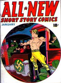 Cover Thumbnail for All-New Short Story Comics (Harvey, 1943 series) #1
