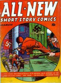 Cover for All-New Short Story Comics (Harvey, 1943 series) #2