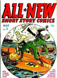 Cover Thumbnail for All-New Short Story Comics (Harvey, 1943 series) #3