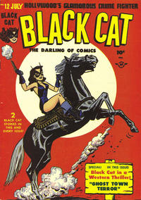 Cover Thumbnail for Black Cat (Harvey, 1946 series) #12