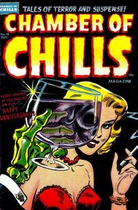 Cover for Chamber of Chills Magazine (Harvey, 1951 series) #19