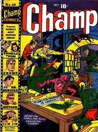 Cover Thumbnail for Champ Comics (Harvey, 1940 series) #20