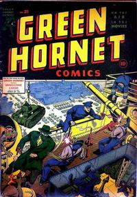 Cover Thumbnail for Green Hornet Comics (Harvey, 1942 series) #21