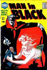 Cover Thumbnail for Man in Black (Harvey, 1957 series) #1