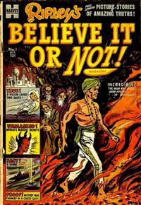 Cover Thumbnail for Ripley's Believe It Or Not Magazine (Harvey, 1953 series) #1