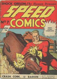 Cover Thumbnail for Speed Comics (Brookwood, 1939 series) #7