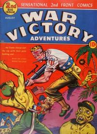 Cover Thumbnail for War Victory Adventures (Harvey, 1943 series) #2