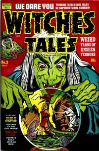 Cover Thumbnail for Witches Tales (Harvey, 1951 series) #3