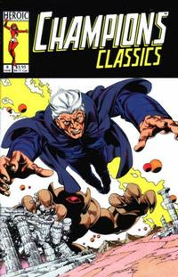 Cover Thumbnail for Champions / Flare Adventures (Heroic Publishing, 1992 series) #8