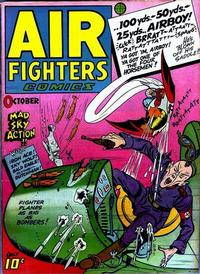 Cover Thumbnail for Air Fighters Comics (Hillman, 1941 series) #v2#1 [13]