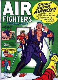 Cover Thumbnail for Air Fighters Comics (Hillman, 1941 series) #v2#4 [16]