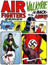 Cover Thumbnail for Air Fighters Comics (Hillman, 1941 series) #v2#7 [19]