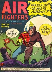 Cover Thumbnail for Air Fighters Comics (Hillman, 1941 series) #v2#9 [21]