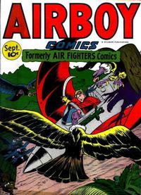 Cover Thumbnail for Airboy Comics (Hillman, 1945 series) #v3#8 [31]