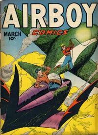 Cover for Airboy Comics (Hillman, 1945 series) #v4#2 [37]