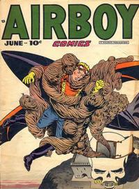 Cover for Airboy Comics (Hillman, 1945 series) #v5#5 [52]