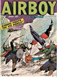 Cover for Airboy Comics (1945 series) #v6#5 [64]
