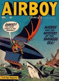Cover Thumbnail for Airboy Comics (Hillman, 1945 series) #v7#7 [78]