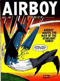 Cover Thumbnail for Airboy Comics (Hillman, 1945 series) #v7#9 [80]