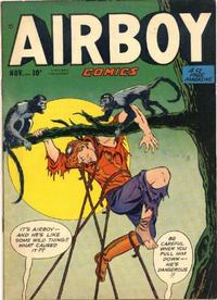 Cover Thumbnail for Airboy Comics (Hillman, 1945 series) #v7#10 [81]